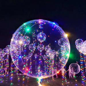 Transparent  Balloon with LED String Lights -