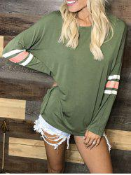 Batwing Sleeve Drop Shoulder T-shirt -