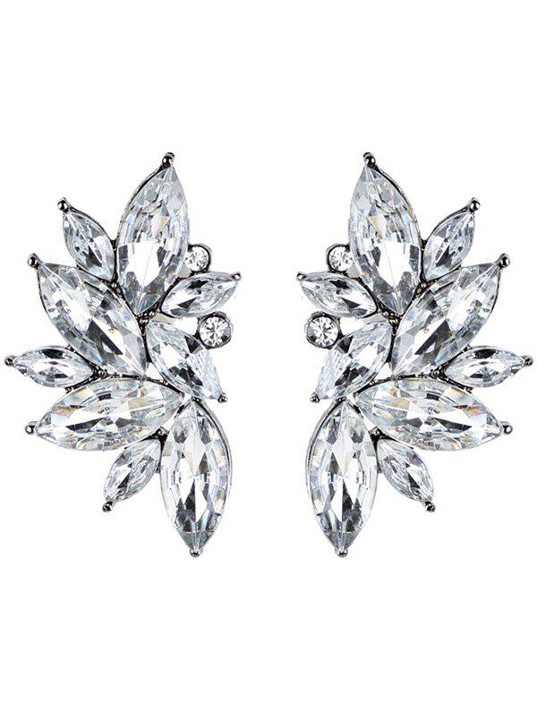 Buy Statement Faux Crystal Rhinestone Earrings