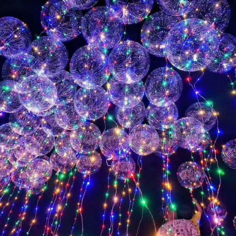 New Transparent  Balloon with LED String Lights