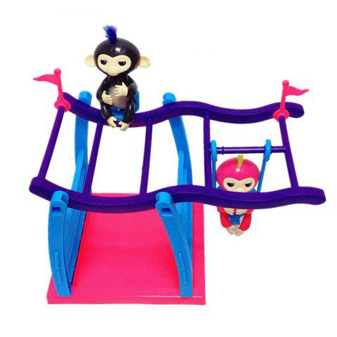 Climbing Stand Swing Playset Movement Support  for Finger Animals
