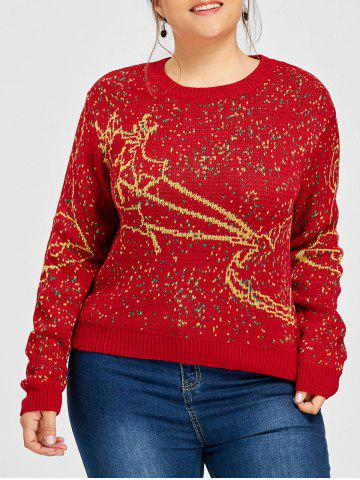 Sweat Taille Elk Bell Plus De Noël