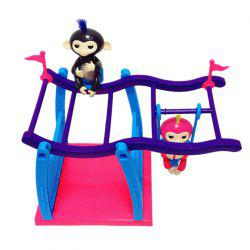 Climbing Stand Swing Playset Movement Support  for Finger Animals -