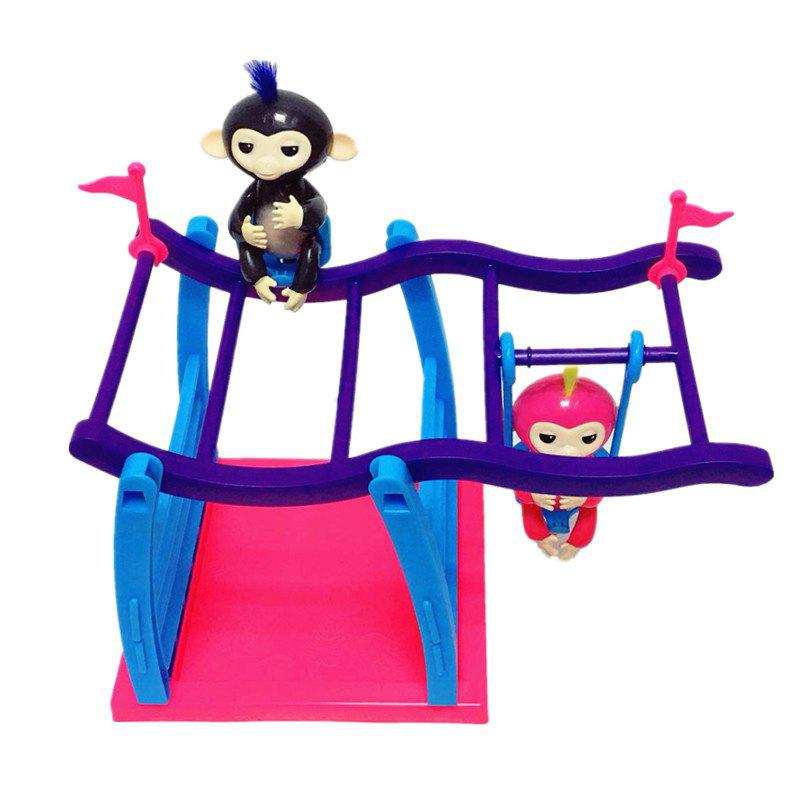 Climbing Stand Swing Playset Movement Support  for Finger AnimalsHOME<br><br>Color: COLORMIX; Products Type: Climbing Stand; Style: Trendy; Material: Plastic; Package Contents: 1 x Climbing Stand;