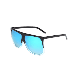 Retro Full Frame Oversized Square Sunglasses -