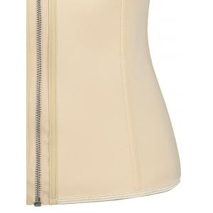 Taille formateur plus taille zipip up corset -