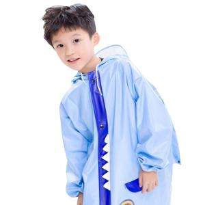 Outdoor Waterproof Cartoon Animal Hooded Raincoat for Kids -