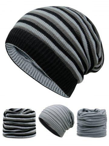 Buy Outdoor Reversible Crochet Knitted Open Top Beanie