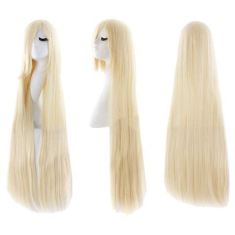 Shops Ultra Long Inclined Bang Straight Synthetic Party Wig