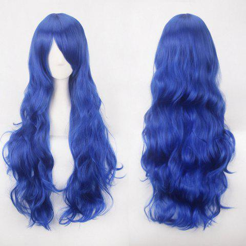 Shop Ultra Long Side Bang Fluffy Curly Synthetic Party Wig