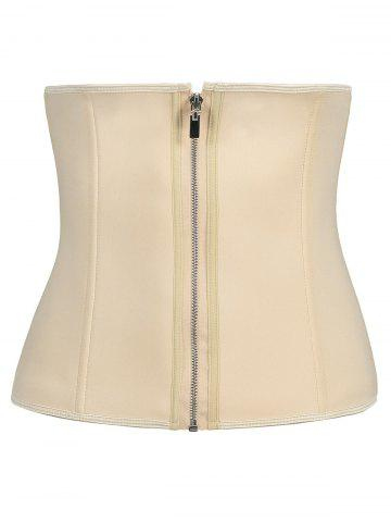 Taille formateur plus taille zipip up corset