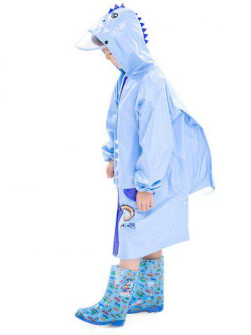 Shop Outdoor Waterproof Cartoon Animal Hooded Raincoat for Kids