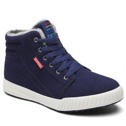 Letter Print High Top Skate Shoes -