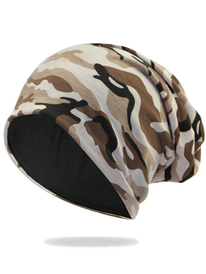Best Outdoor Camouflage Pattern Embellished Slouchy Beanie