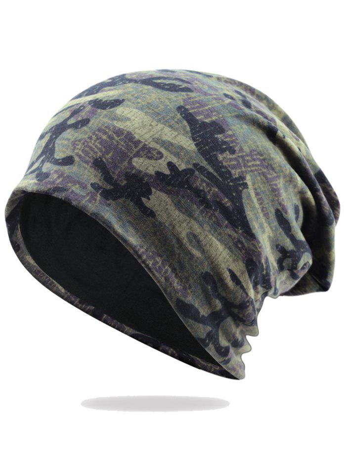 Shops Outdoor Camouflage Pattern Embellished Slouchy Beanie