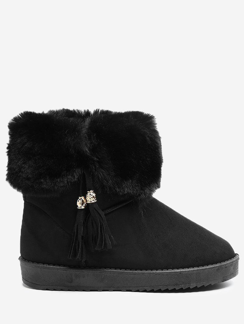 Sale Tassel Embellished Snow Boots