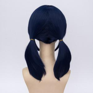 Inclined Bang Medium Two Ponytails The Miraculous Ladybug Marinette Cosplay Wig -