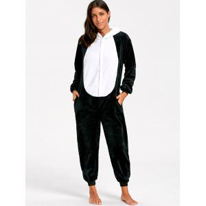 Adult Cute Panda Animal Onesie Pajamas -