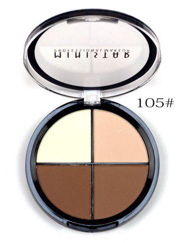 Latest 4 Colors Professional Makeup Concealer Powder Makeup Blush Palette