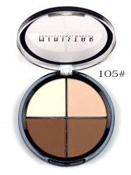 4 Colors Professional Makeup Concealer Powder Makeup Blush Palette -
