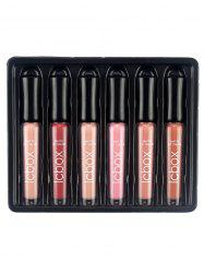 6Pcs Beauty Long Lasting Lip Gloss Collection -