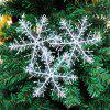 3 Pcs Christmas Hanging Decorations Snowflakes -