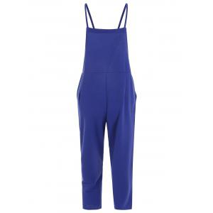 Plus Size Overalls with Pocket -