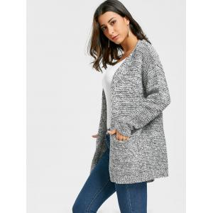 Open Front Tunic Cardigan -