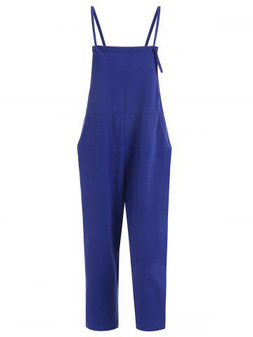 Hot Plus Size Overalls with Pocket