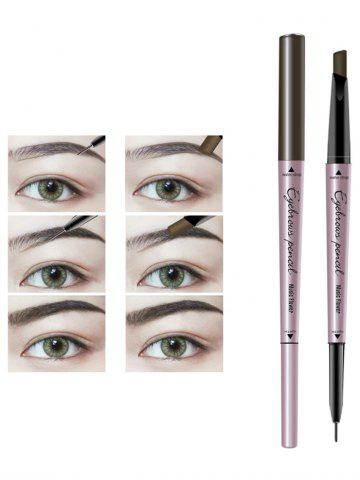 Sale 24 Hours Long Lasting Waterproof Double Headed Eyebrown Pencil