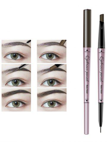 Unique 24 Hours Long Lasting Waterproof Double Headed Eyebrown Pencil