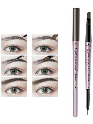 Outfit 24 Hours Long Lasting Waterproof Double Headed Eyebrown Pencil