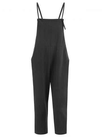 Store Plus Size Overalls with Pocket