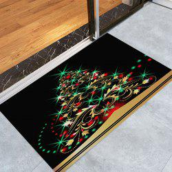 Christmas Tree Pattern Anti-skid Indoor Outdoor Area Rug -