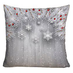 Christmas Printed Decorative Sofa Throw Pillowcase -