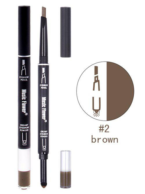Professional Waterproof Long Lasting Eyebrow PencilBEAUTY<br><br>Color: BROWN; Category: Eyebrow; Type: Other; Features: Eco-friendly,Hypoallergentic,Limits Bacteria; Season: Summer,Winter; Weight: 0.0260kg; Package Contents: 1 x Eyebrow Pencil;