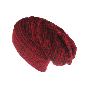 Outdoor Colormix Striped Pattern Thicken Knitted Beanie -