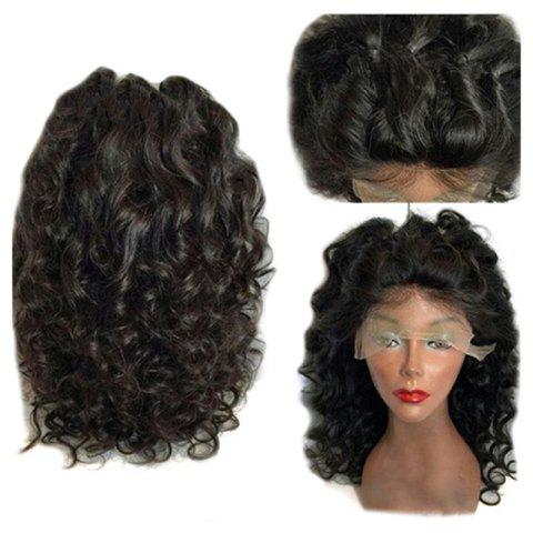 Sale Long Free Part Fluffy Loose Curly Synthetic Lace Front Wig