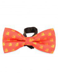 Christmas Trees Decorated Novelty Christmas Bowtie -