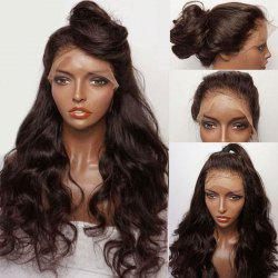 Long Free Part Fluffy Wavy Lace Front Synthetic Wig -