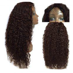 Long Free Part Fluffy Kinky Curly Lace Front Synthetic Wig -