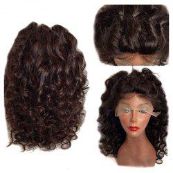 Long Free Part Fluffy Loose Curly Synthetic Lace Front Wig -