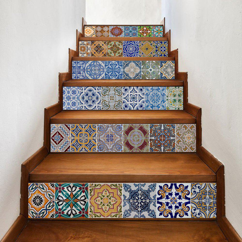 Sale Bohemian Ceramic Tiles Patterned Stair Stickers