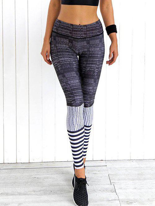 Best High Waist Skinny Printed Yoga Leggings