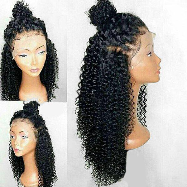 Shops Long Free Part Curly Lace Front Synthetic Wig
