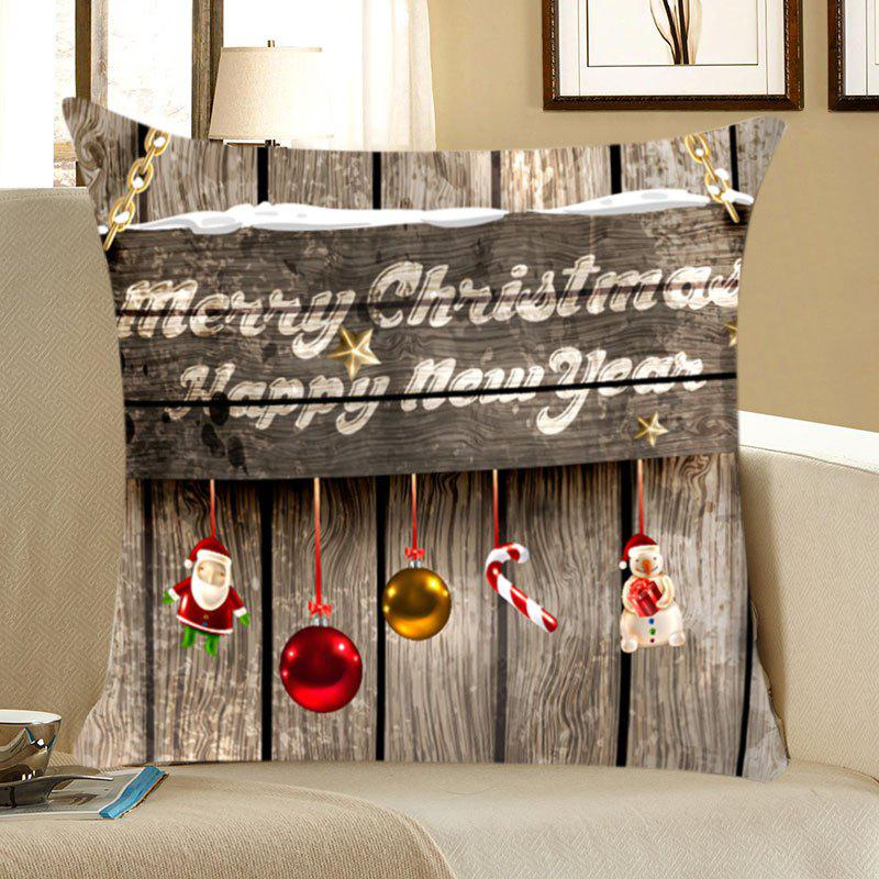 Wood Grain Patterned Linen Throw Pillow CaseHOME<br><br>Size: W18 INCH * L18 INCH; Color: WOOD COLOR; Material: Linen; Fabric Type: Linen; Pattern: Wood Grain; Style: Natural; Shape: Square; Weight: 0.0700kg; Package Contents: 1 x Pillow Case;