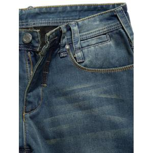 Pantalon en denim floquant -