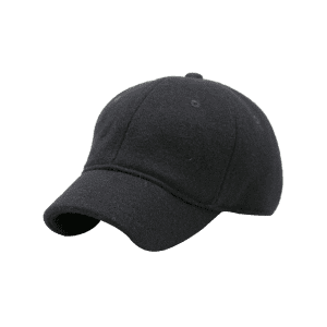 Outdoor Lines Embroidered Wool Baseball Hat -
