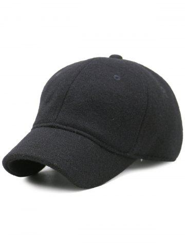 Best Outdoor Lines Embroidered Wool Baseball Hat