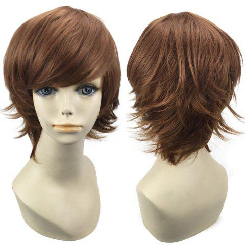 Sale Short Side Bang Straight Synthetic Cosplay Wig